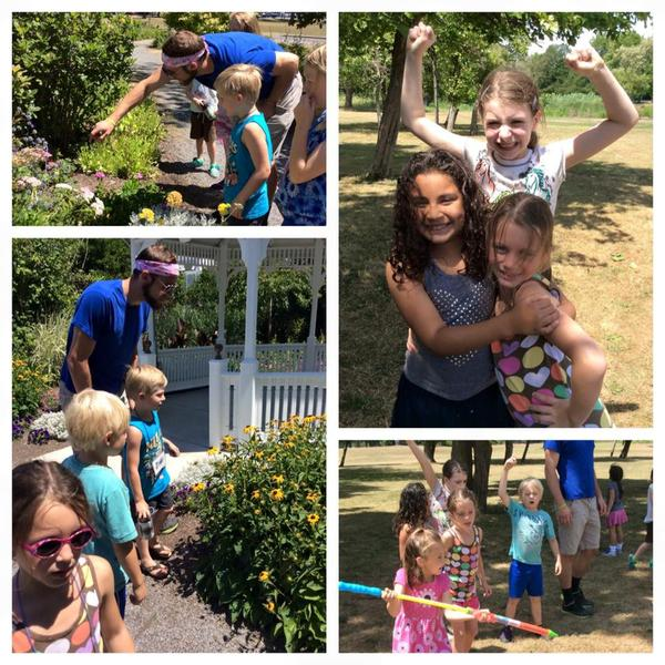 Nature Explores Art Science Camp At The Botanical Gardens