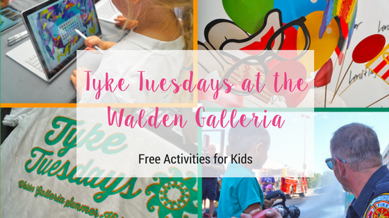 Tyke Tuesdays at the Walden Galleria