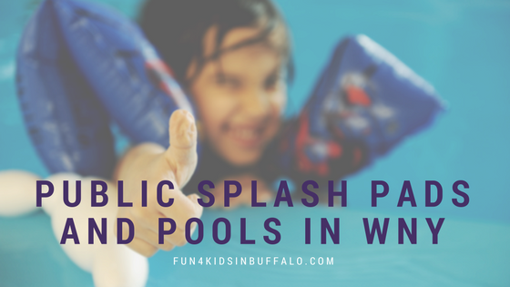 Public Splash Pads and Pools in WNY