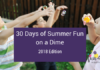 30 Days of Summer Fun on a Dime