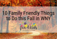 Family Friendly Things to Do in WNY this Fall