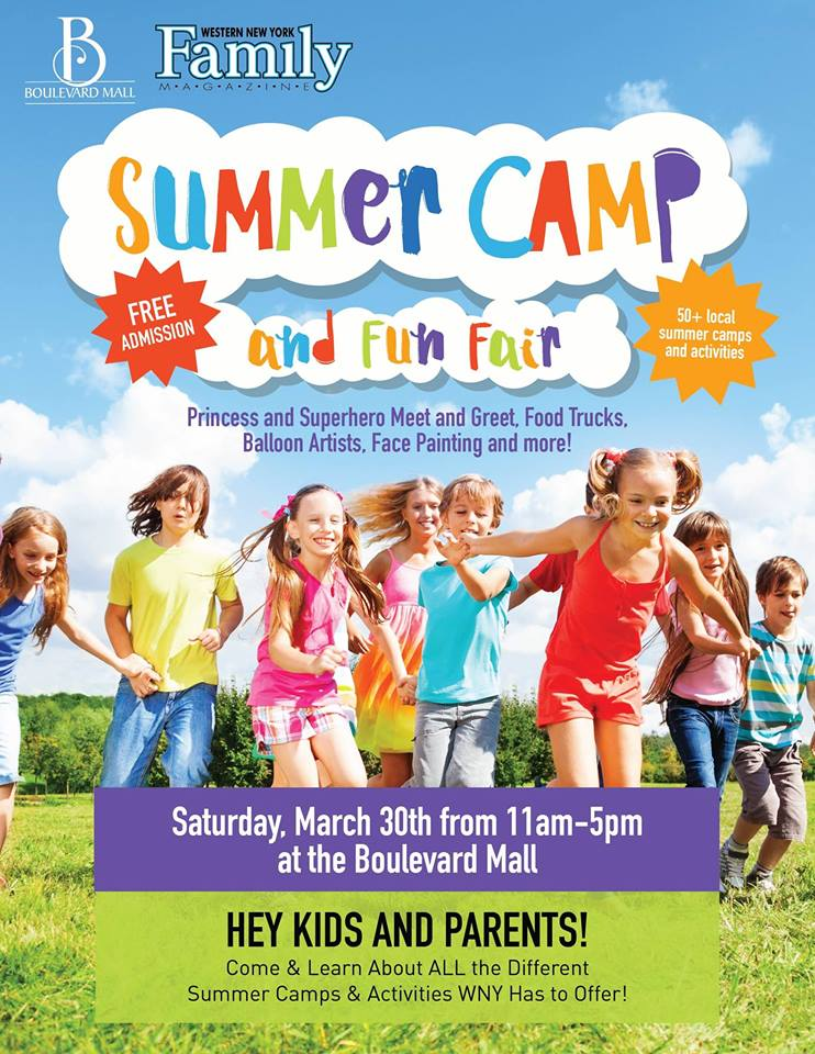 Summer Camp And Fun Fair Hosted By Boulevard Mall And Western New