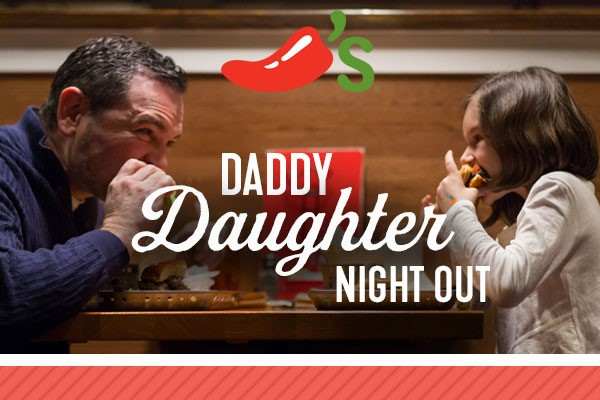 Daddy Daughter Night Out At Chilis
