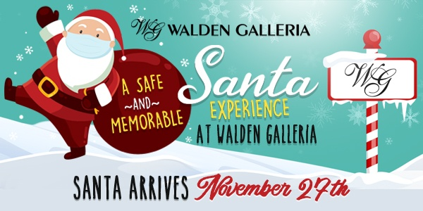 Visit Santa at Walden Galleria