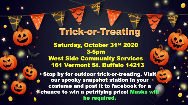 Trick or Treating at West Side Community Services