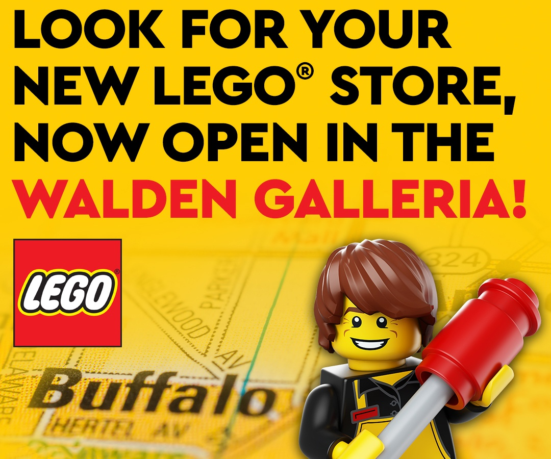 LEGO is now open at Walden Galleria