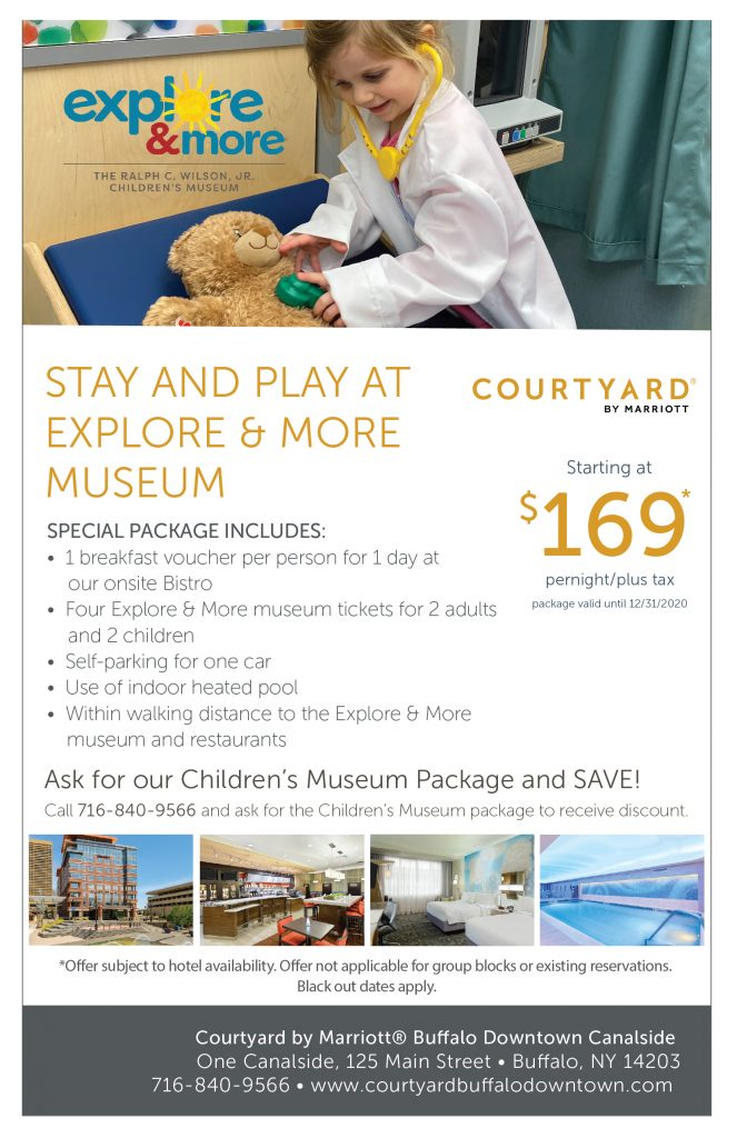 Courtyard at Canalside Overnight Offer