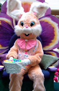 Host an event with the easter bunny this spring