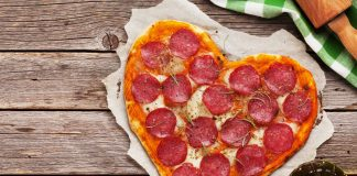 Heart shaped pizzas in WNY