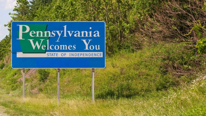Welcome to PA sign